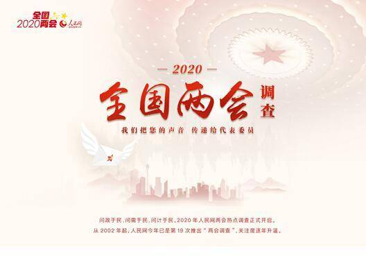 2020全国两会调查结果:正风反腐 依法治国 社会保障居热词榜前三