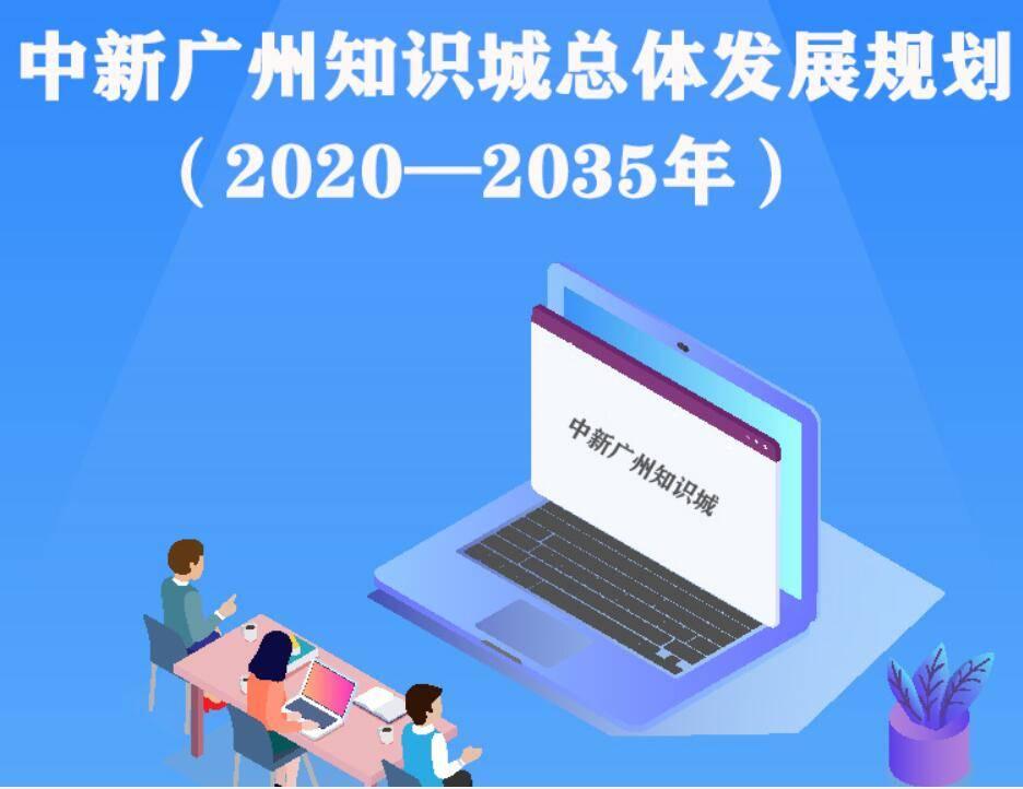 一图读懂中新广州知识城总体发展规划(2020—2035年)
